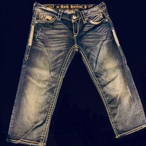 Denim - Rock revival capri jeans